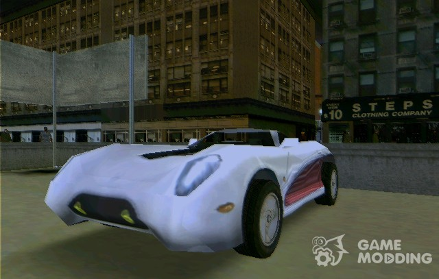 La Niсa from Need For Speed: High Stakes for GTA 3