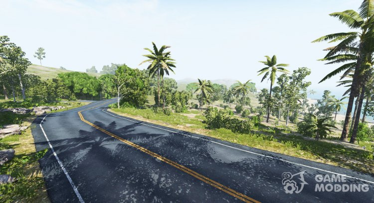 Dry Rock Island for BeamNG.Drive