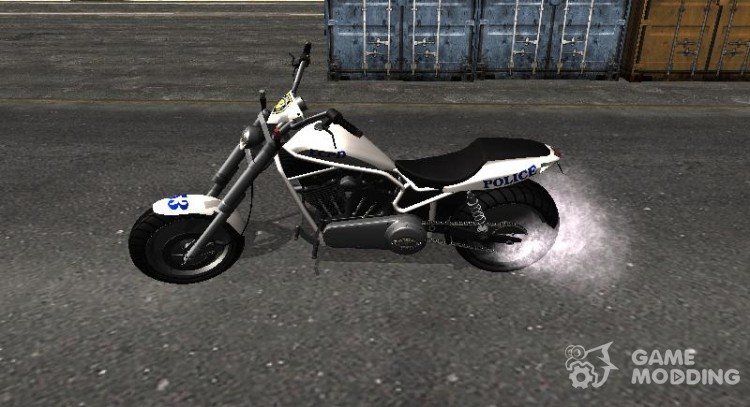 Police Bike from GTA IV for GTA San Andreas