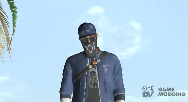 Marcus Holloway-Watch Dogs 2 for GTA San Andreas