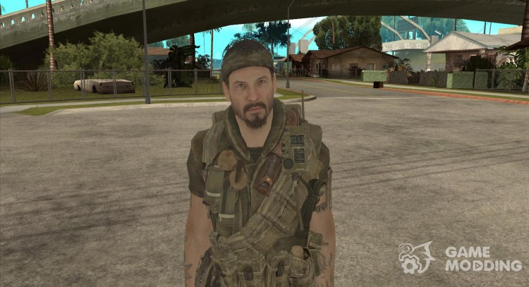 Frank Woods for GTA San Andreas