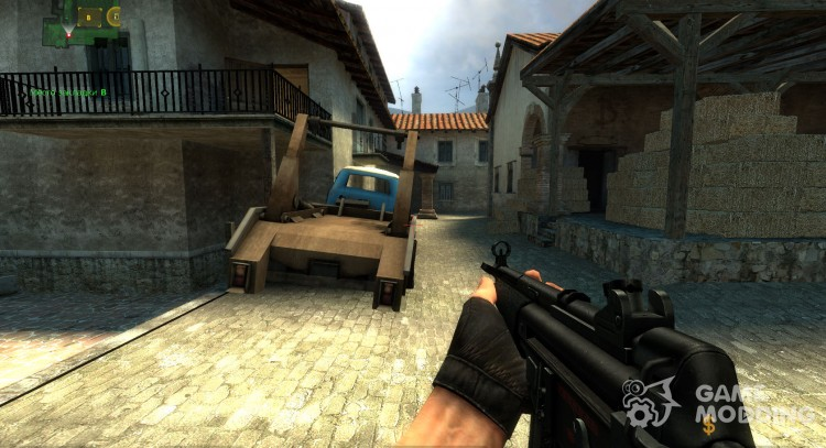 Tehsnakes mp5 skin for Counter-Strike Source