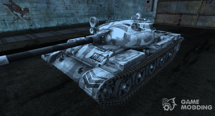 Шкурка для Т-62А для World Of Tanks