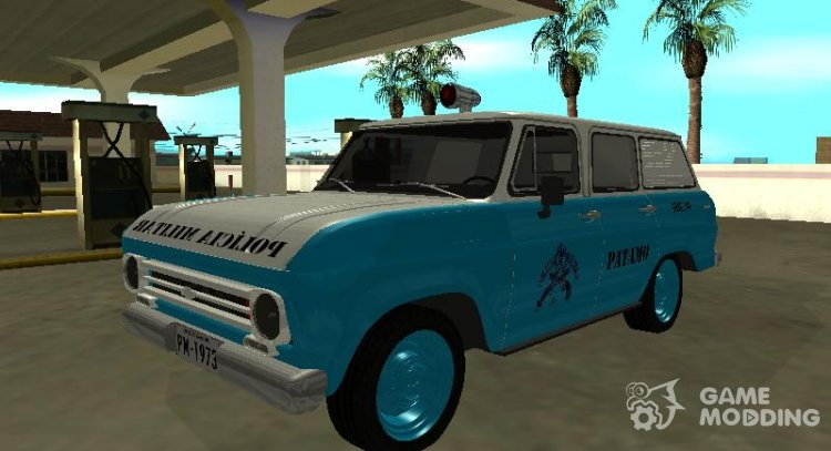 Chevrolet Veraneio 1973 PMERJ for GTA San Andreas