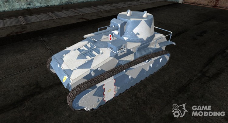 Skin for Leichtetraktor for World Of Tanks