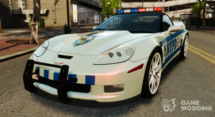 Chevrolet Corvette ZR1 Police for GTA 4
