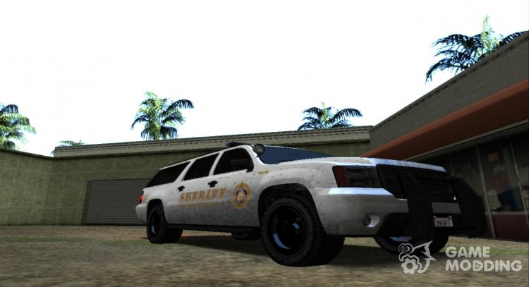 GTA 5 Declasse Granger Sheriff for GTA San Andreas
