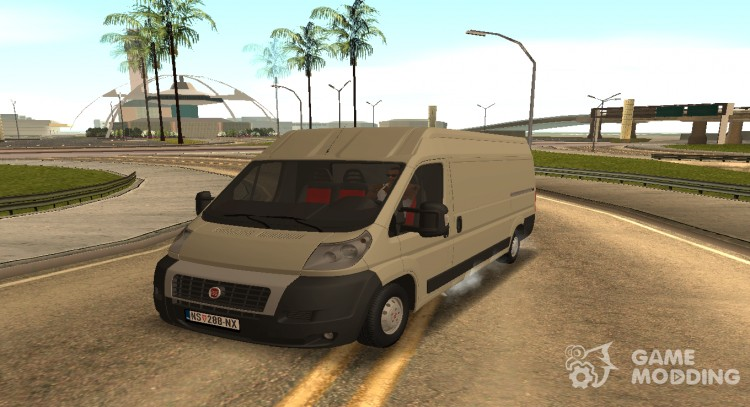 Fiat Ducato Mk3 Maxi for GTA San Andreas