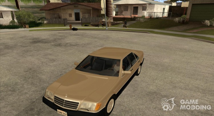 Mercedes Benz 500 SE W140 for GTA San Andreas