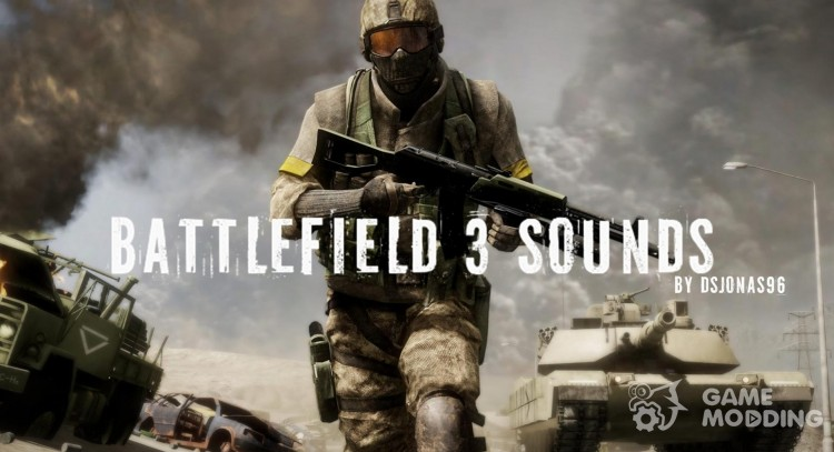 Battlefield 3 Weapon and Tank Sound для GTA San Andreas
