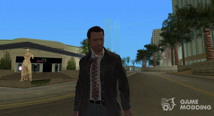 Max Payne from Max Payne 3 v2 for GTA Vice City