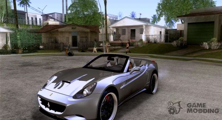 Ferrari California 2011 for GTA San Andreas