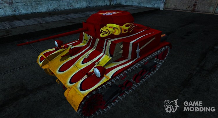 T2 lt DeathRoller 2 для World Of Tanks