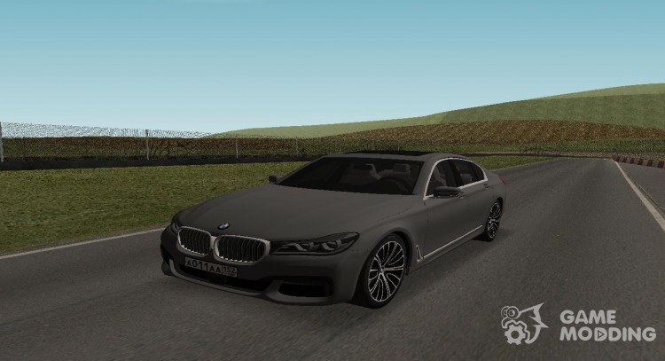 BMW 730 G11 for GTA San Andreas