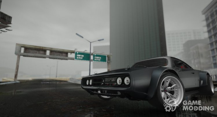 Ice Dodge Charger R/T '70 for GTA San Andreas