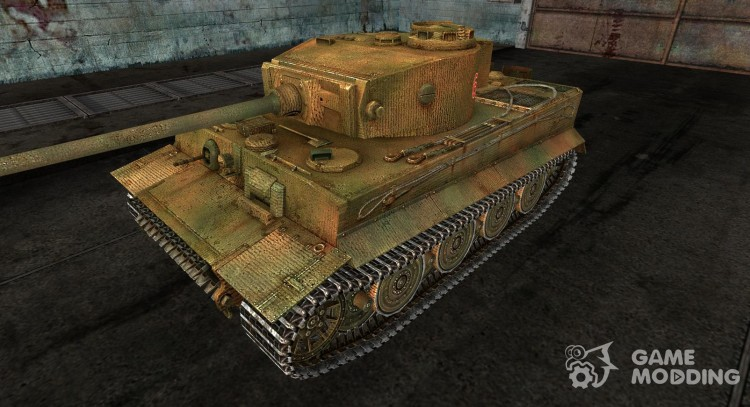 The Panzer VI Tiger General303 for World Of Tanks
