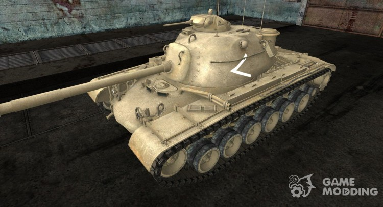 Skin for M48A1 for World Of Tanks