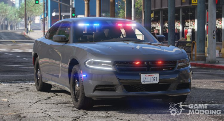 2018 Dodge Charger - Los Santos Police Department for GTA 5