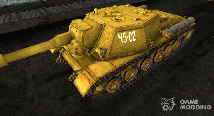 The Su-152 Gesar for World Of Tanks