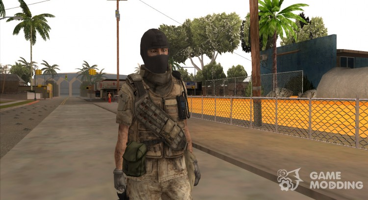Crysis 2 US Soldier Bodygroup 8 B for GTA San Andreas