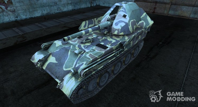 Skin for Gw-Panther for World Of Tanks