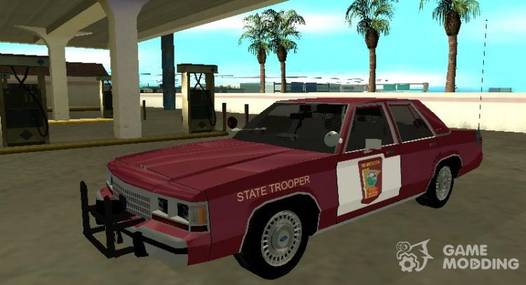 Ford LTD Crown Victoria 1991 Minnesota State Trooper for GTA San Andreas