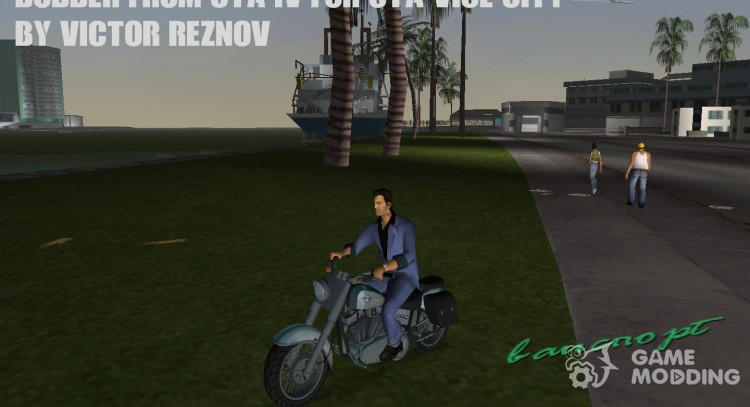 Bobber from GTA IV for GTA Vice City