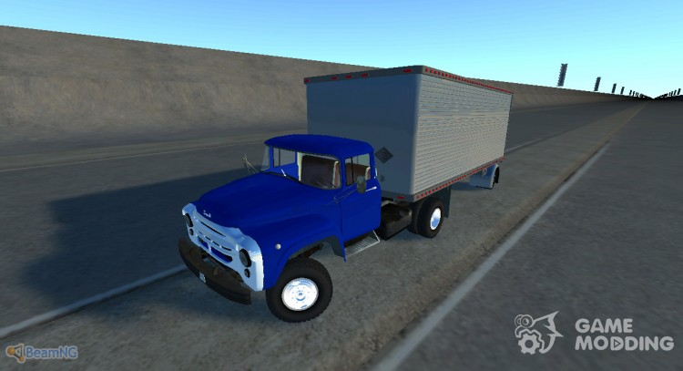 ZIL-130В1 with trailer for BeamNG.Drive