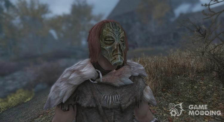 Hoodless Dragon Priest Masks - With Dragonborn Support for TES V: Skyrim