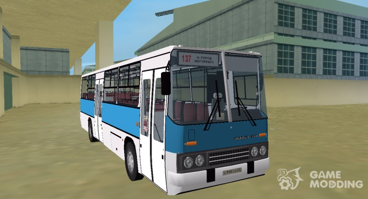 Ikarus 256 route 137 for GTA Vice City