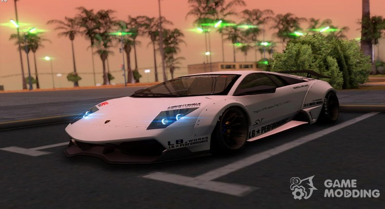 2010 Lamborghini Murcielago Lp670 4 Sv Liberty Walk Lb Performance