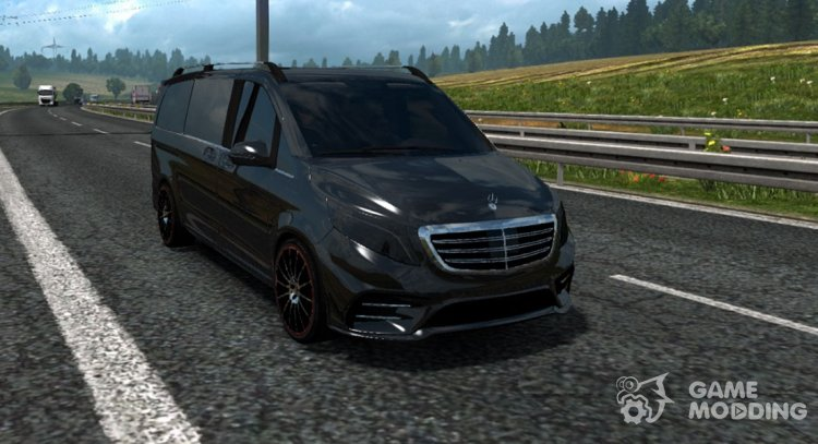 Mercedes-Benz Vito V-class for Euro Truck Simulator 2