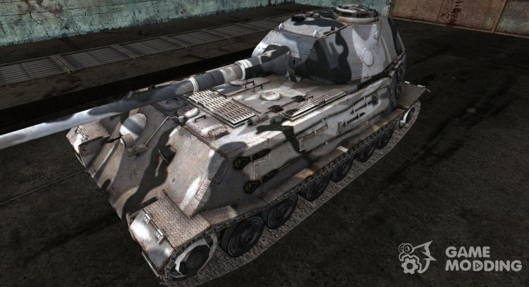 Skin for VK4502 (P) 240. (B) No. 60 for World Of Tanks