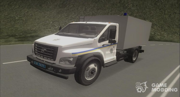 Lawn Next Paddy Wagon of the Ministry of Internal Affairs of Odessa for GTA San Andreas