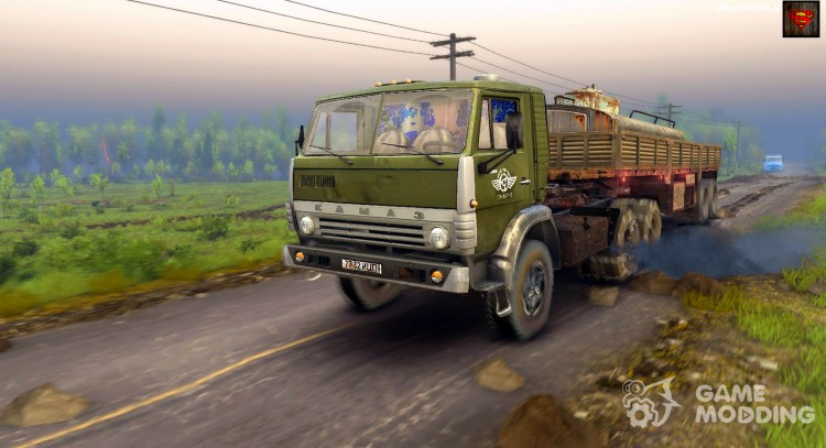 KAMAZ 5410 for Spintires 2014