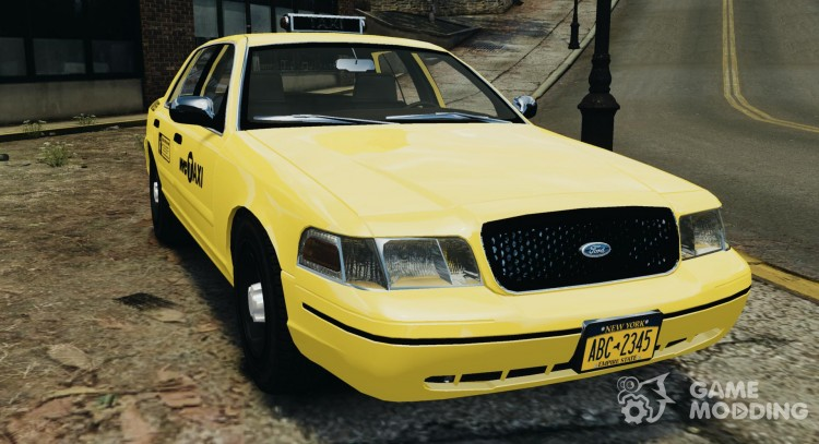 Ford Crown Victoria Taxi NYC 2004 for GTA 4