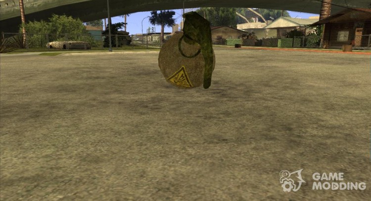 Grenade Postapokalipsis for GTA San Andreas