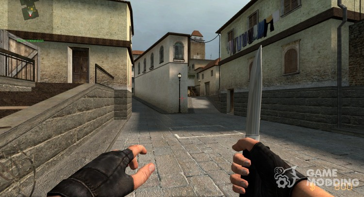 Холодное OSS нож для Counter-Strike Source
