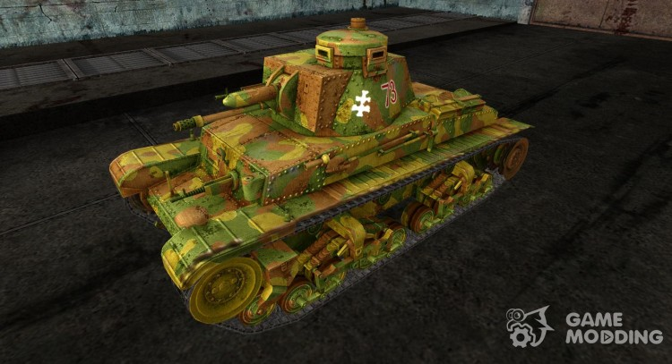 Panzer 35 (t) for World Of Tanks