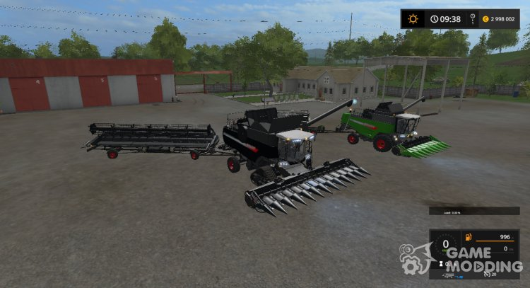 FENDT 6275L & 9490X PACK v1.0 for Farming Simulator 2017