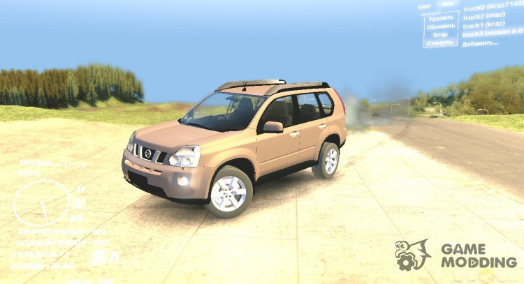 Nissan X-Trail for Spintires DEMO 2013