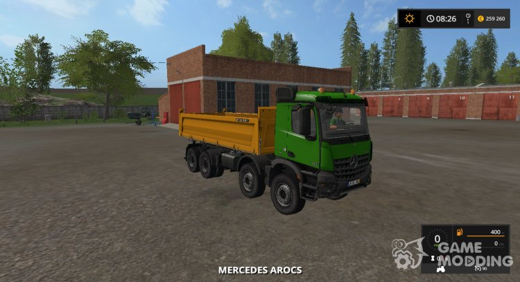 Mercedes-Benz Arocs 3245 v1.1 for Farming Simulator 2017