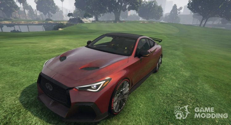 2020 Project Infiniti Q60 Black for GTA 5