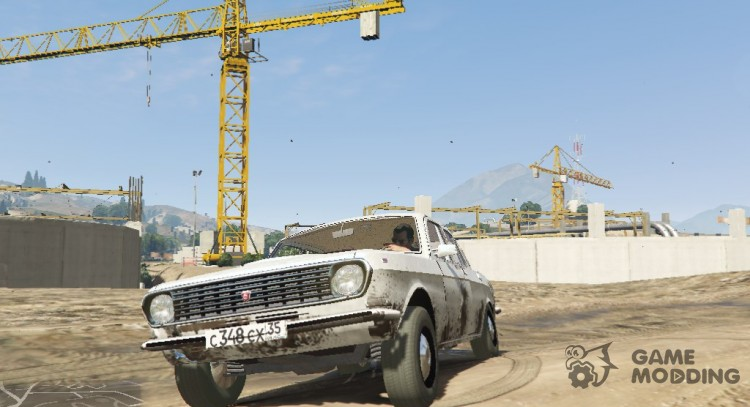 GAZ-24 for GTA 5