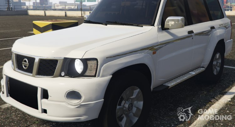 Nissan Patrol Super Safari turbo 2009 for GTA 5