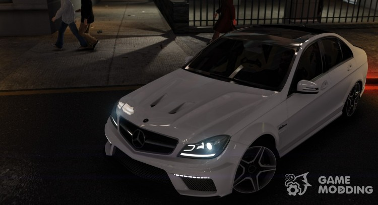 Mercedes-Benz C63 AMG for GTA 4