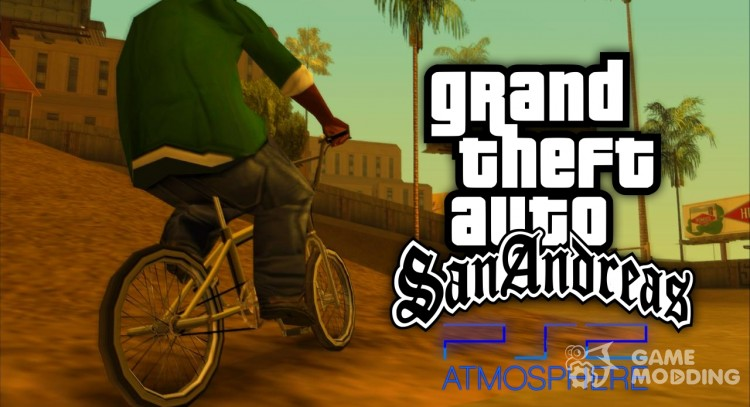 Ps2 Mod Atmosphere for GTA San Andreas
