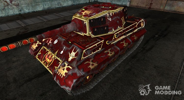 Skin for Panzer VIB Tiger II (Varhammer) for World Of Tanks