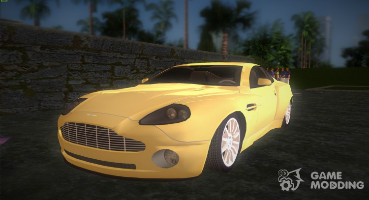 Aston Martin V12 Vanquish v2.0 for GTA Vice City