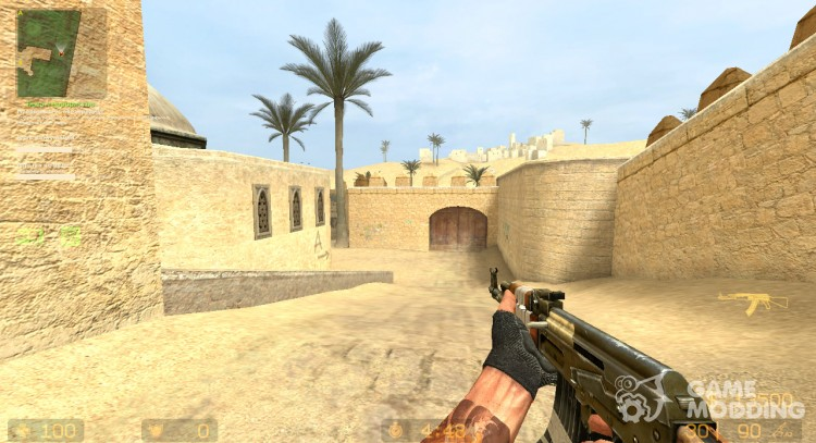 Rusted Taped AK-47 New Texture для Counter-Strike Source